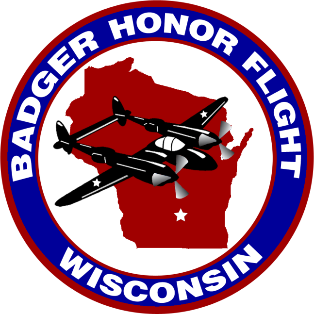 Car Show Badger Honor Flight Logo 2015