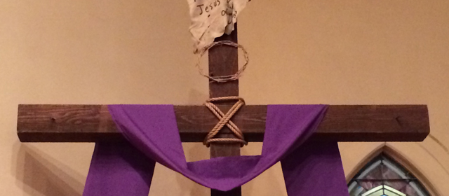 Cross at Lent