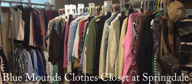 Blue Mounds Clothes Closet