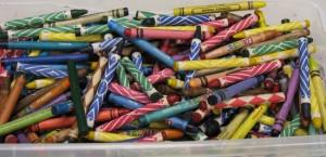 Crayons at Sunday School small IMG_7841