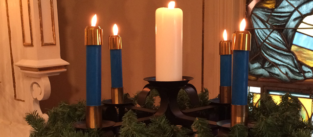Christmas Candles Slider