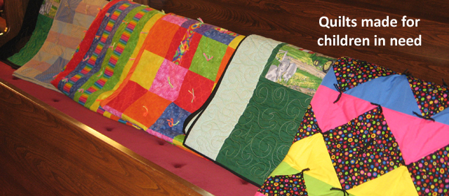Quilts for Children in Need