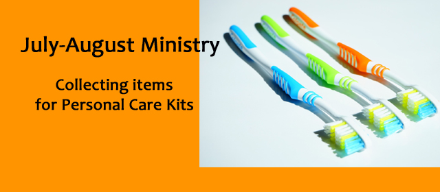 Personal Care Kits July Aug