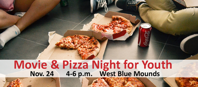 Movie and Pizza for Youth